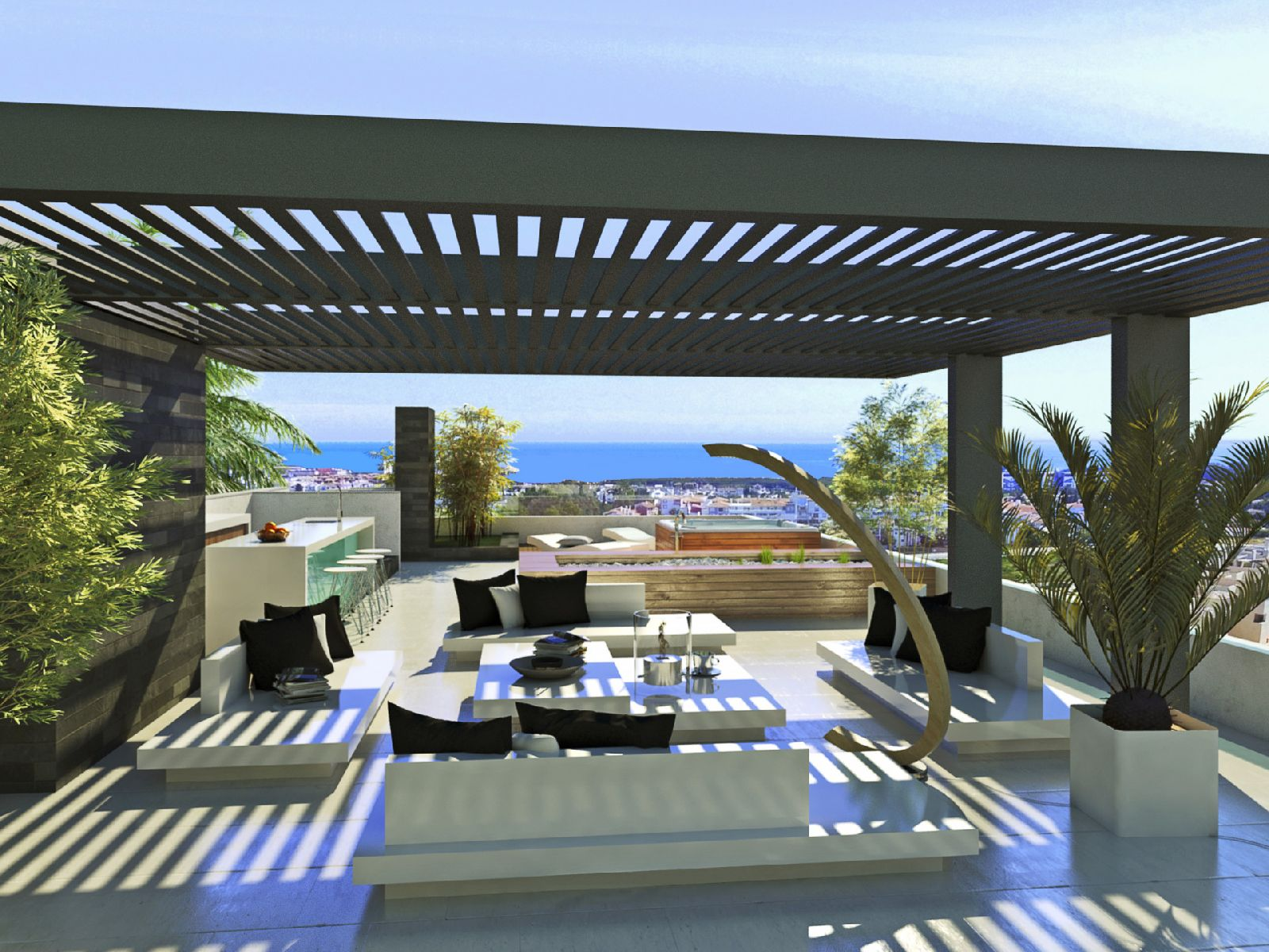 INTELLIGENT VILLAS FROM THE PRESENT TO THE FUTURE - CUSTOME DESIGNED HOUSES IN ESTEPONA GOLF