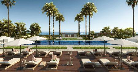 Luksusowe osiedle w pierwszej linii plaży w New Golden Mile, Estepona, Hiszpania